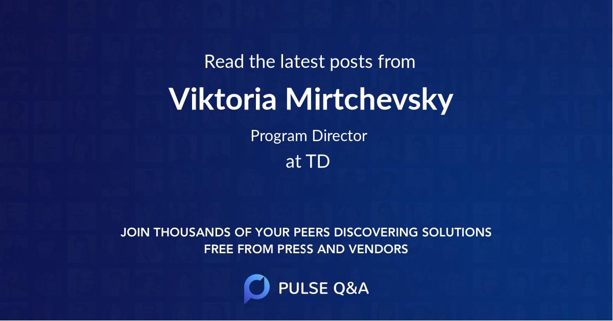 Viktoria Mirtchevsky