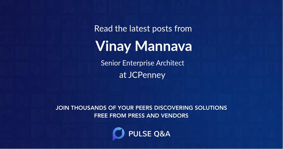 Vinay Mannava