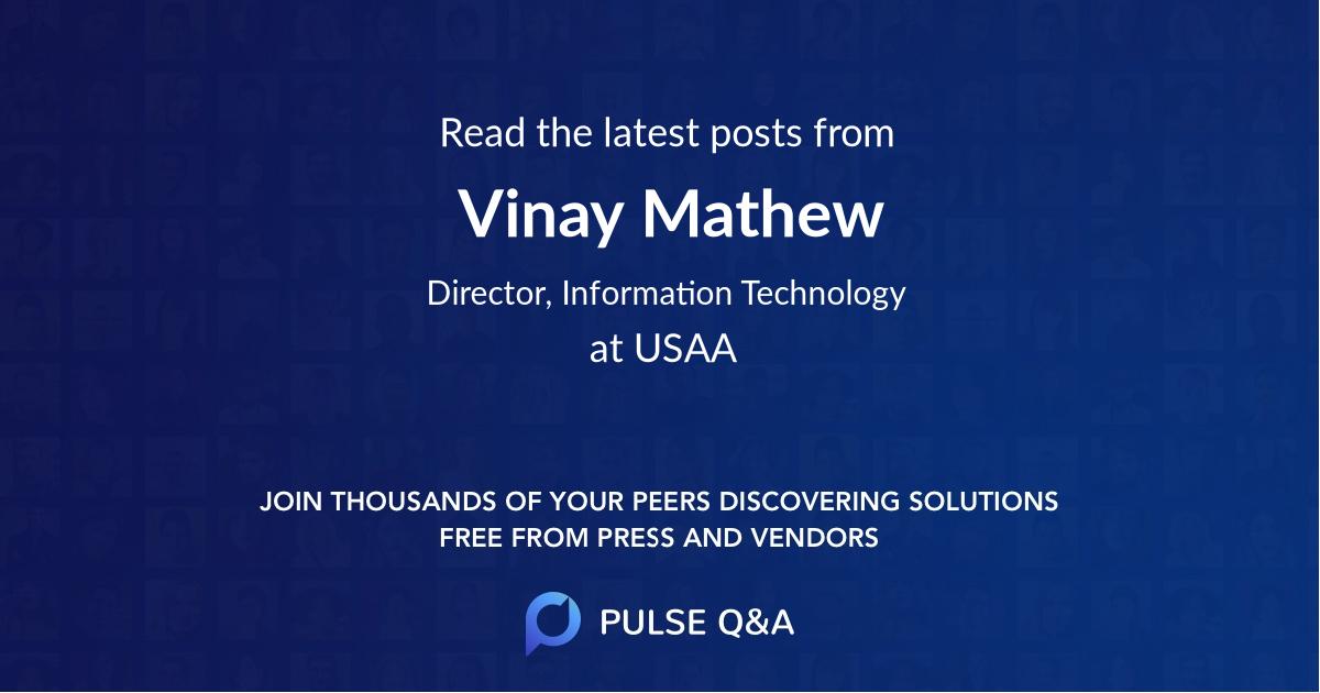 Vinay Mathew
