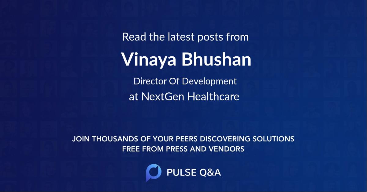 Vinaya Bhushan