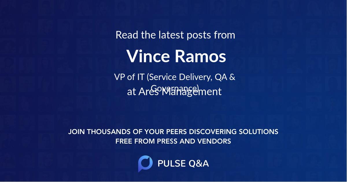 Vince Ramos