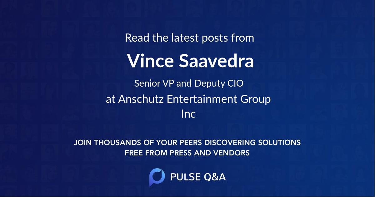 Vince Saavedra