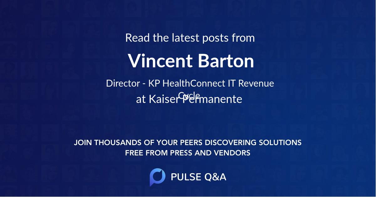 Vincent Barton