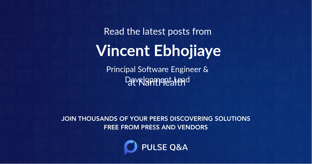 Vincent Ebhojiaye