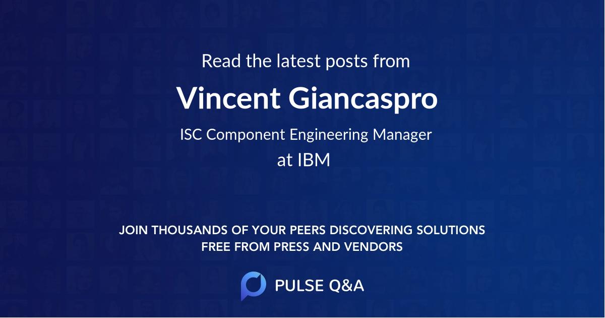 Vincent Giancaspro