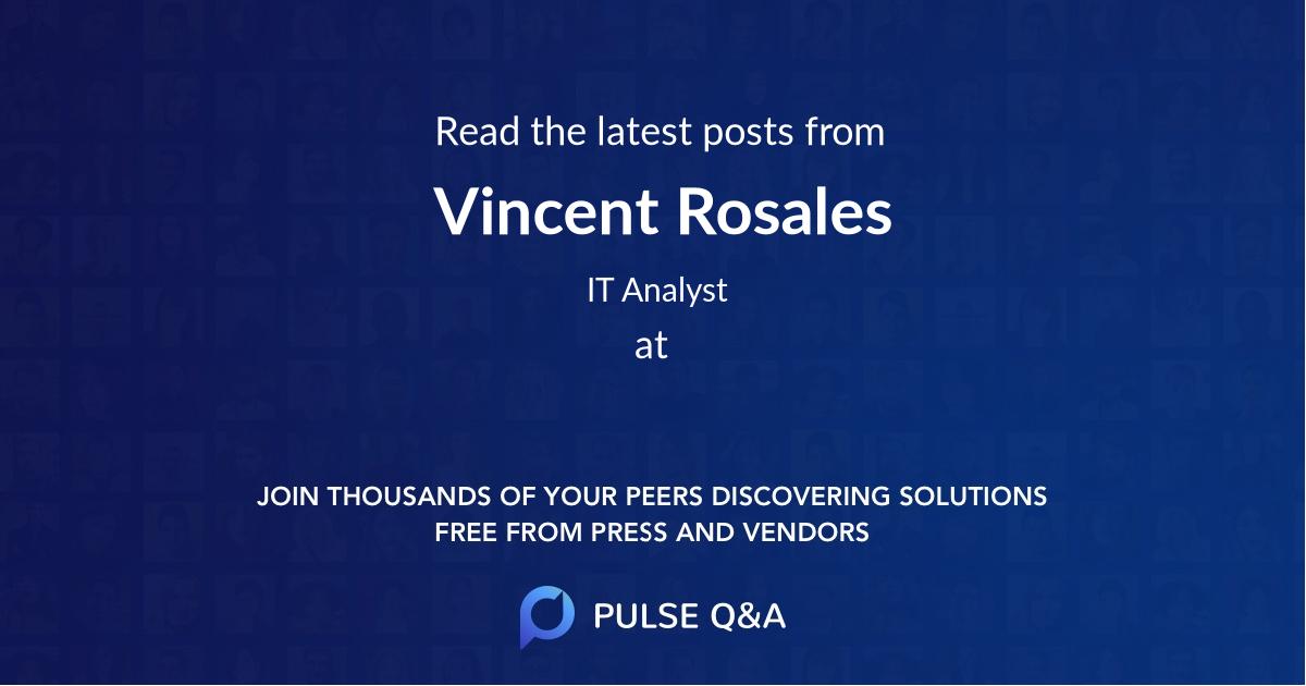 Vincent Rosales