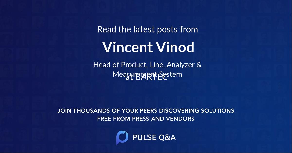 Vincent Vinod