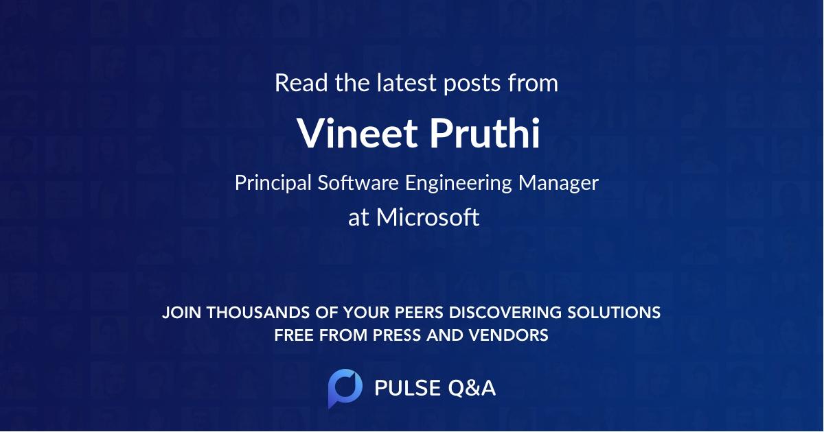 Vineet Pruthi