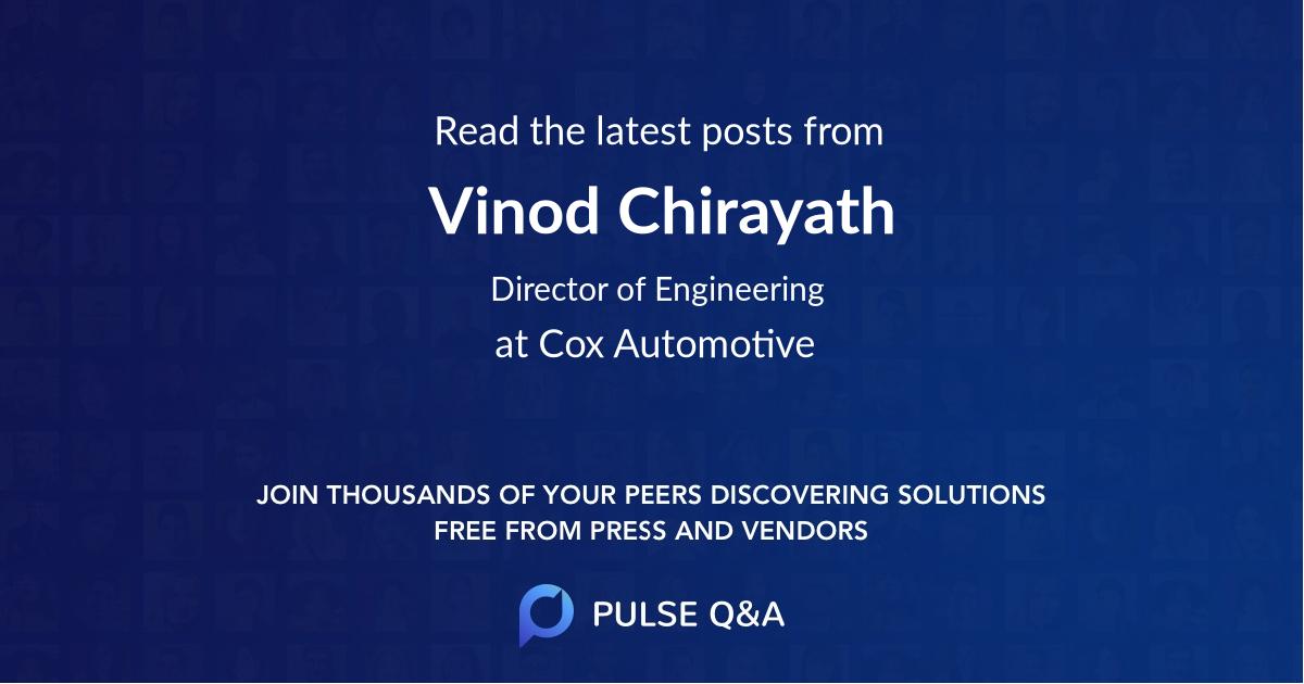 Vinod Chirayath