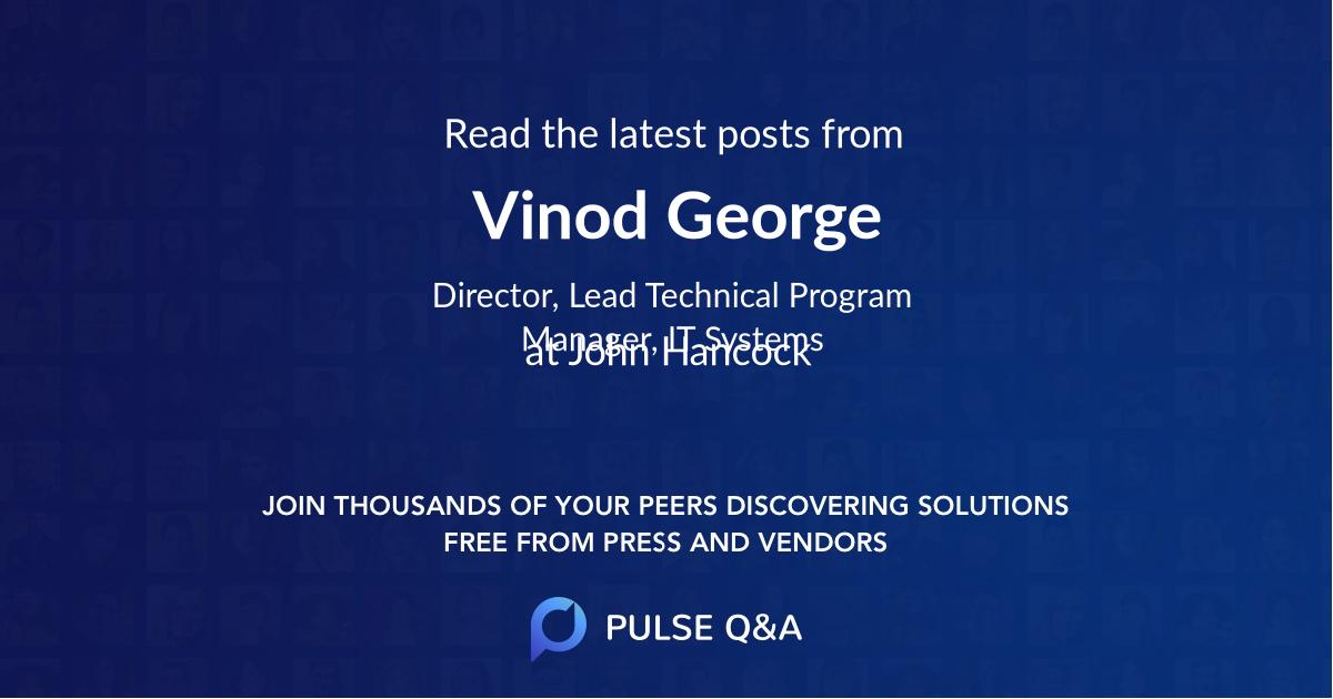 Vinod George