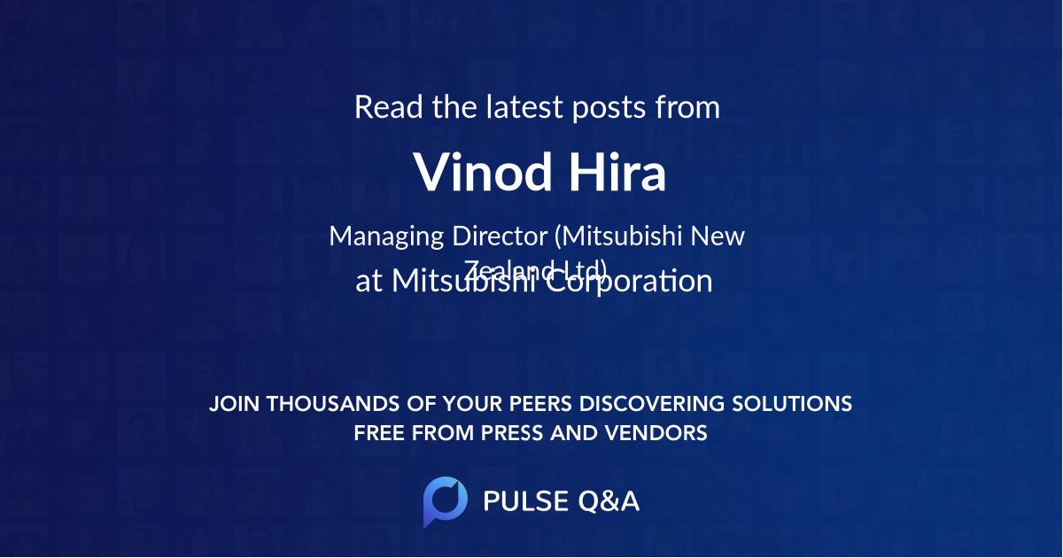 Vinod Hira