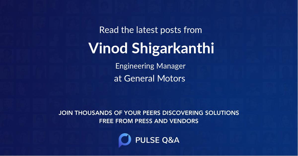 Vinod Shigarkanthi