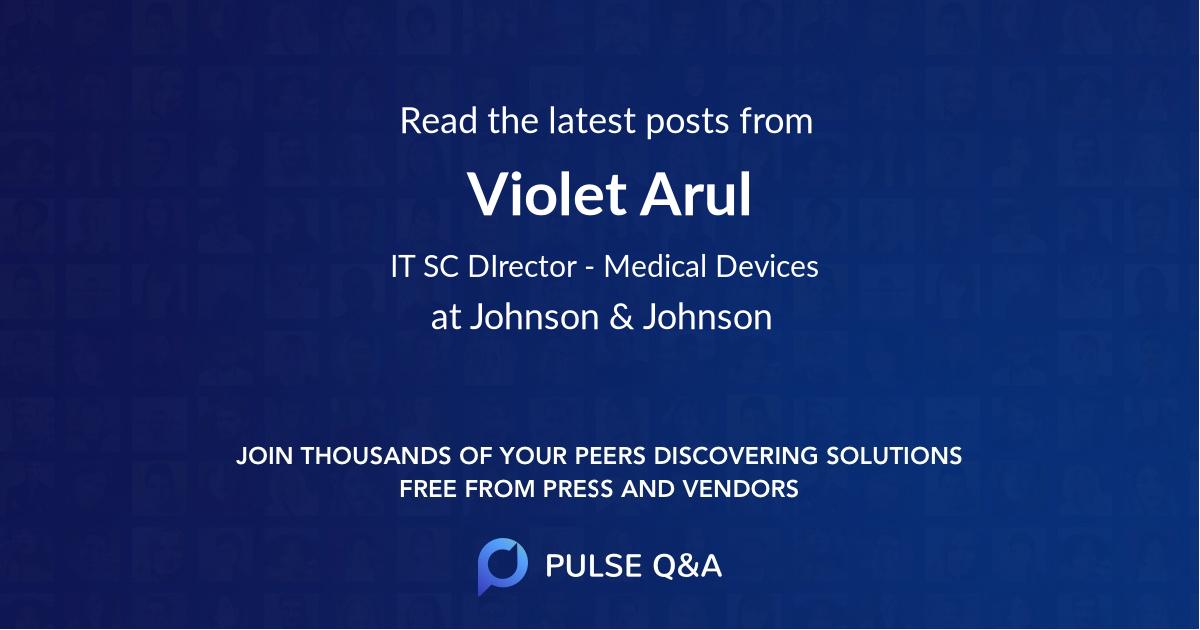 Violet Arul