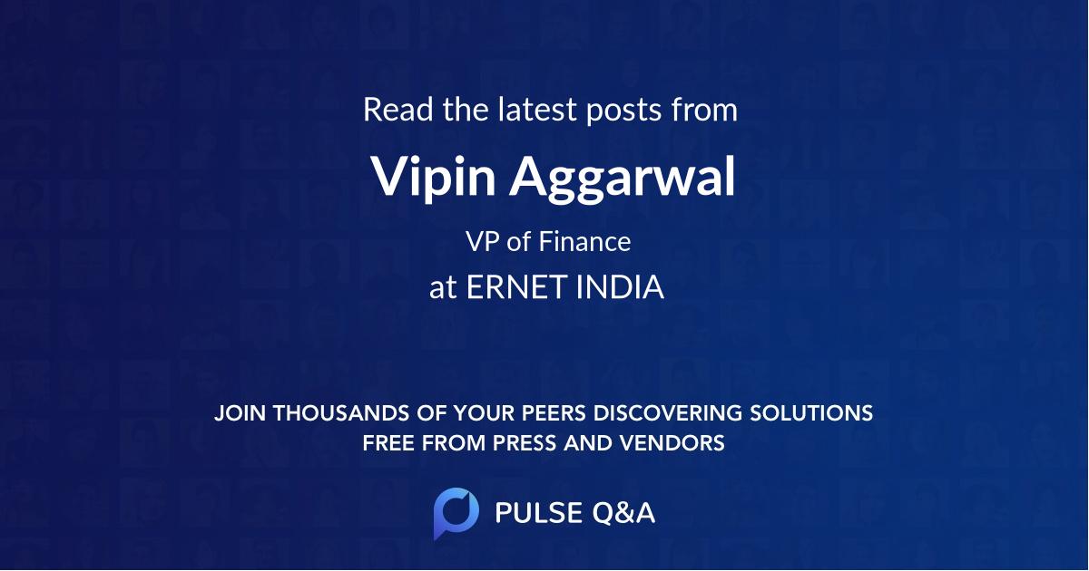 Vipin Aggarwal