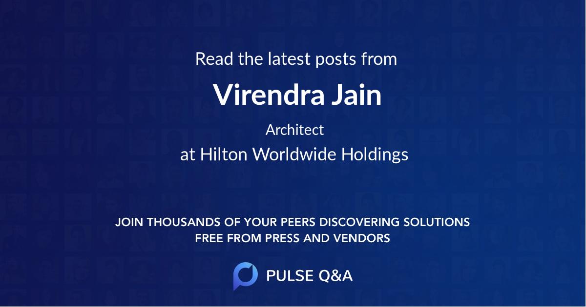 Virendra Jain