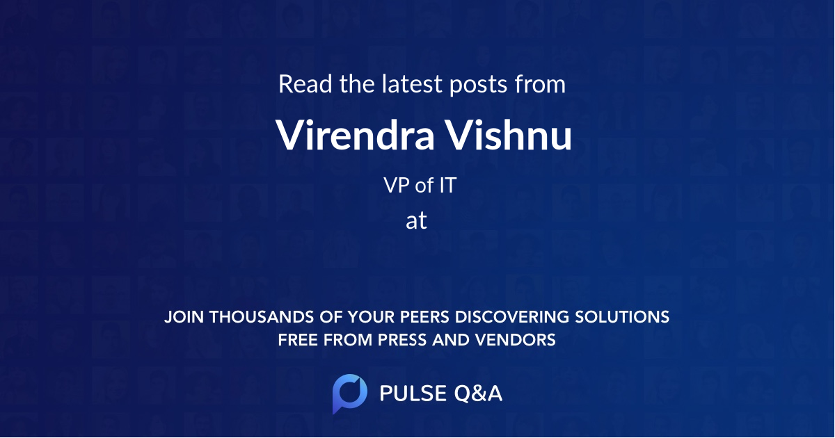 Virendra Vishnu