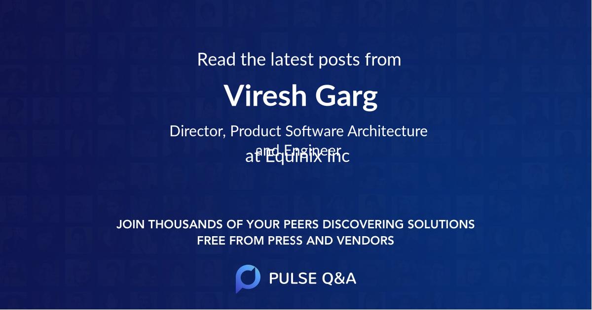 Viresh Garg