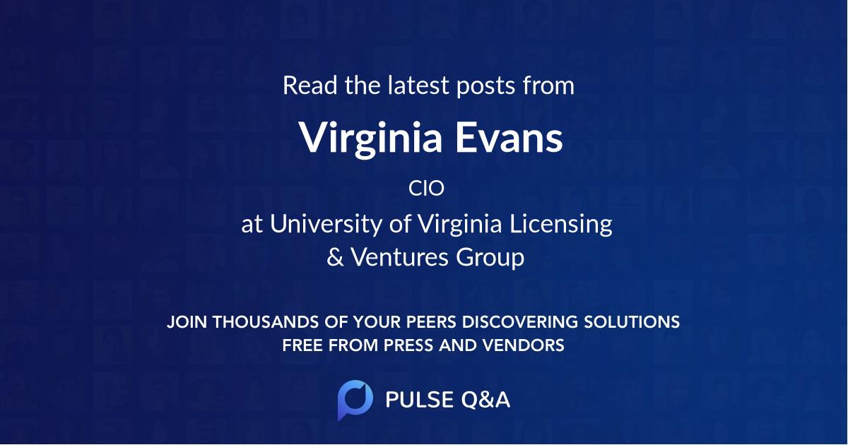 Virginia Evans