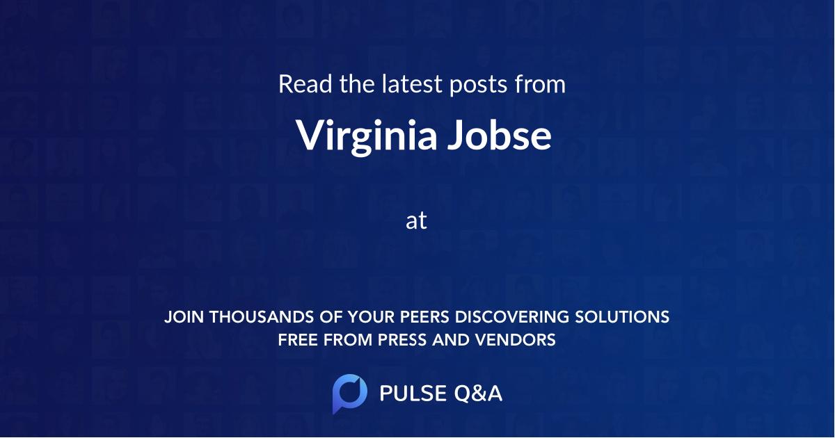 Virginia Jobse