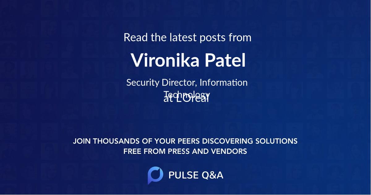Vironika Patel