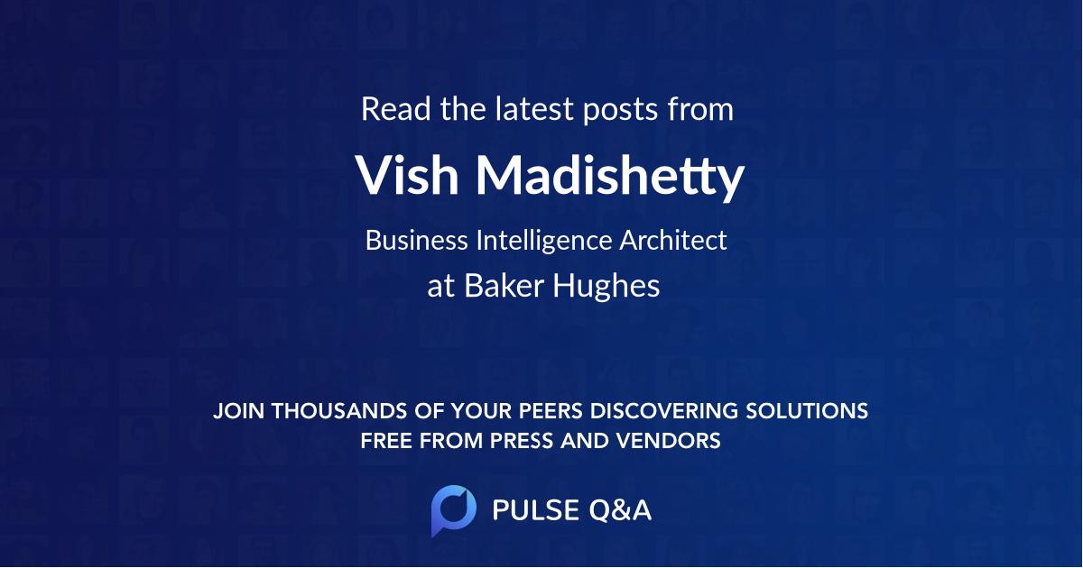 Vish Madishetty