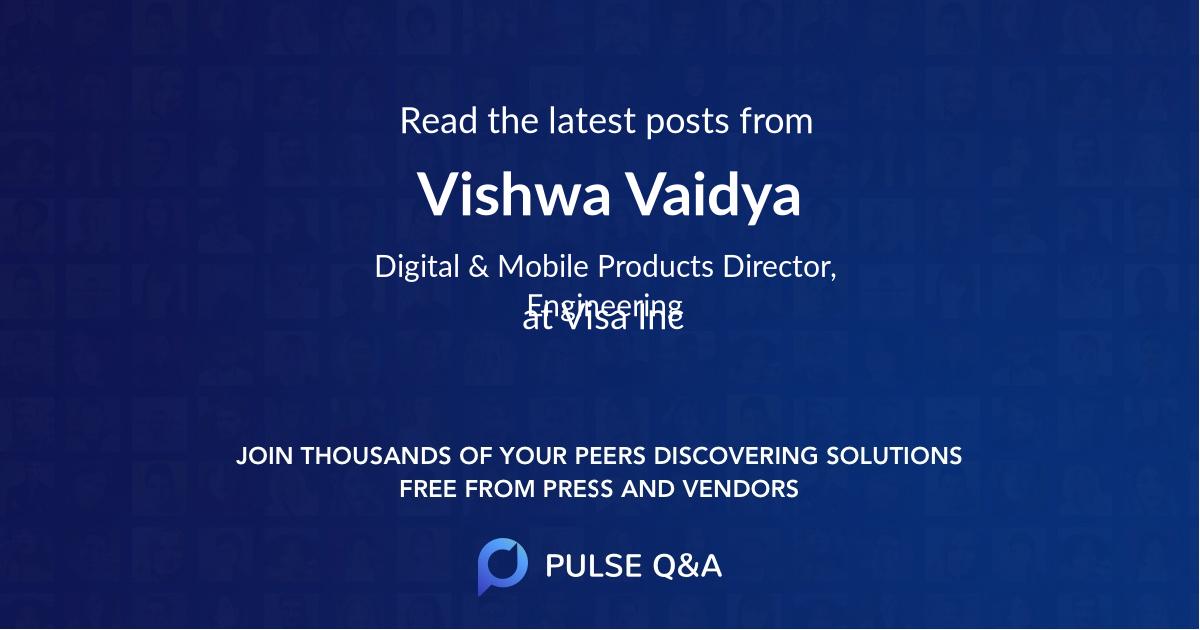 Vishwa Vaidya