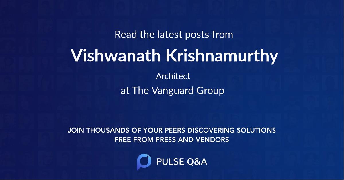 Vishwanath Krishnamurthy