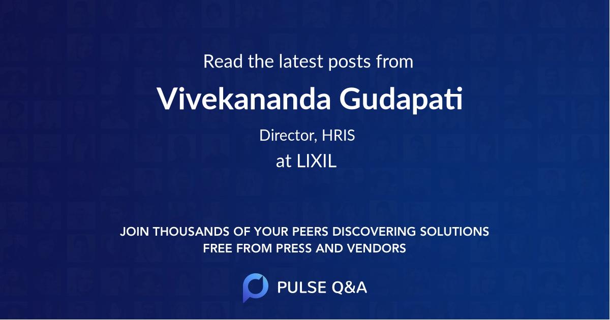 Vivekananda Gudapati