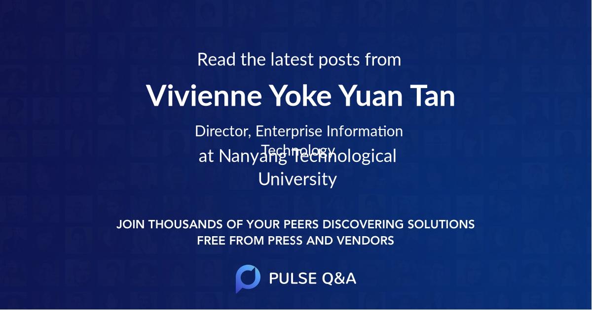 Vivienne Yoke Yuan Tan