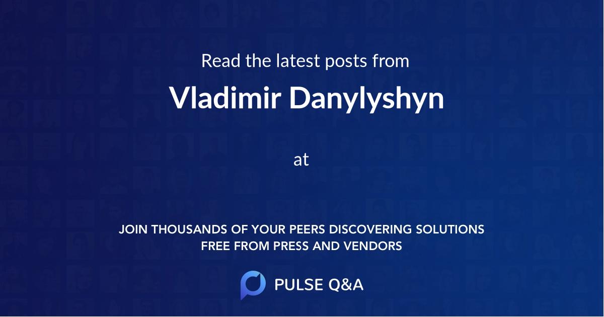 Vladimir Danylyshyn