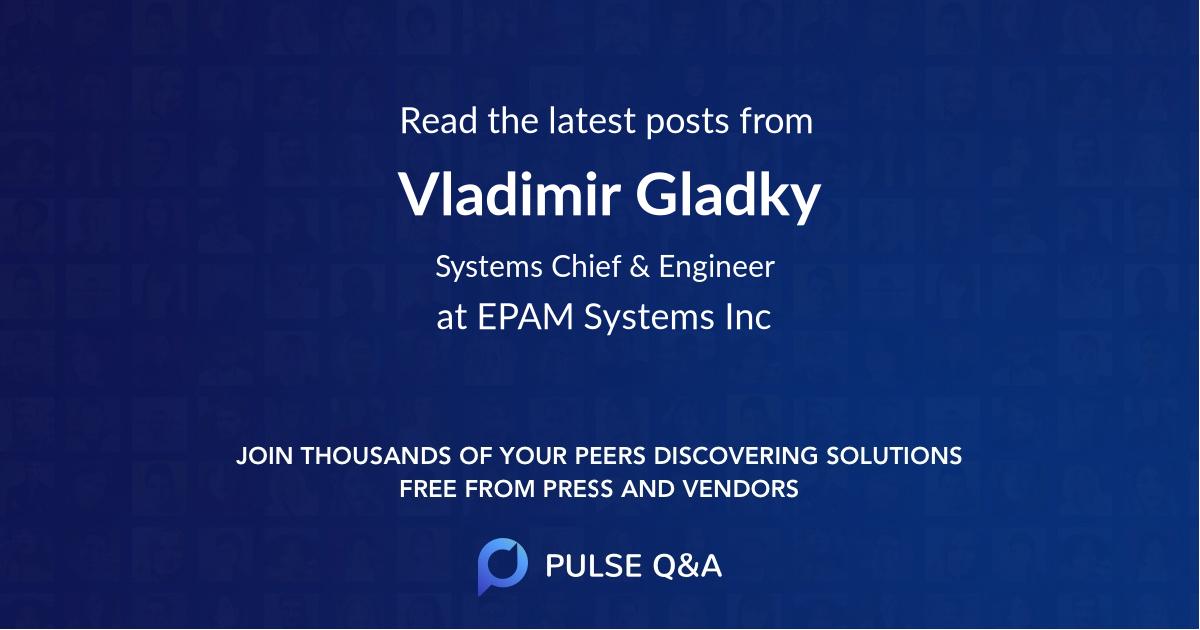 Vladimir Gladky