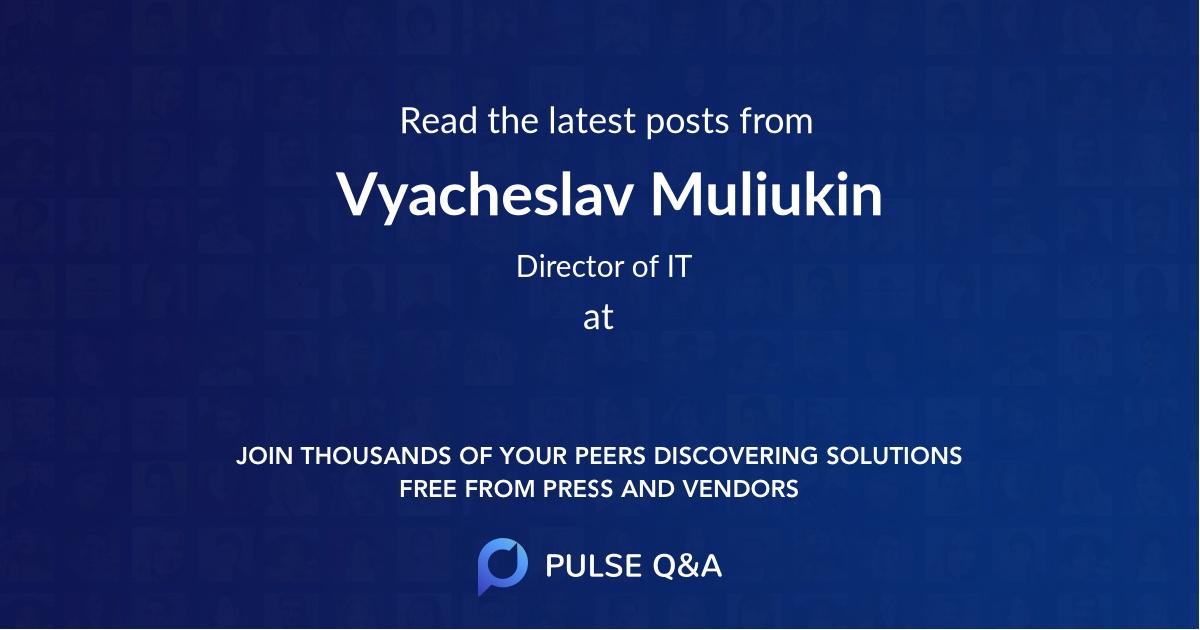 Vyacheslav Muliukin