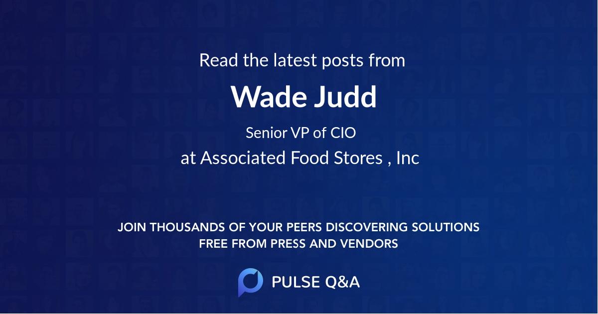 Wade Judd