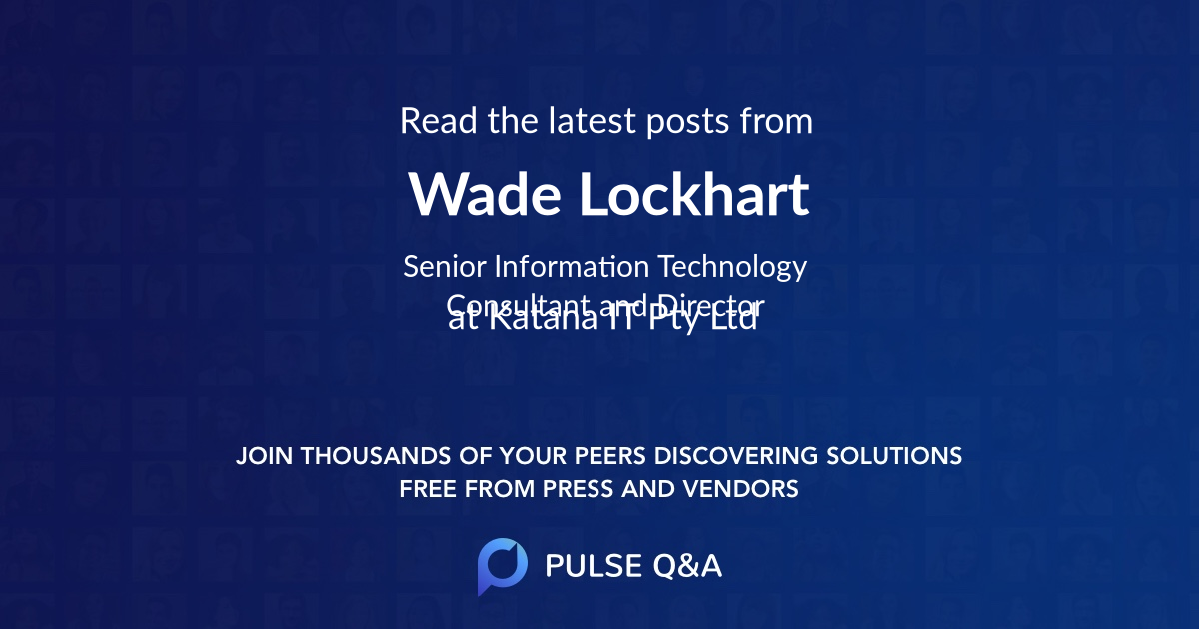 Wade Lockhart