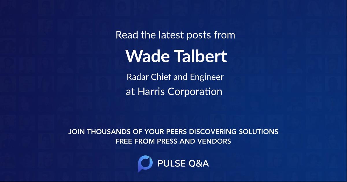Wade Talbert