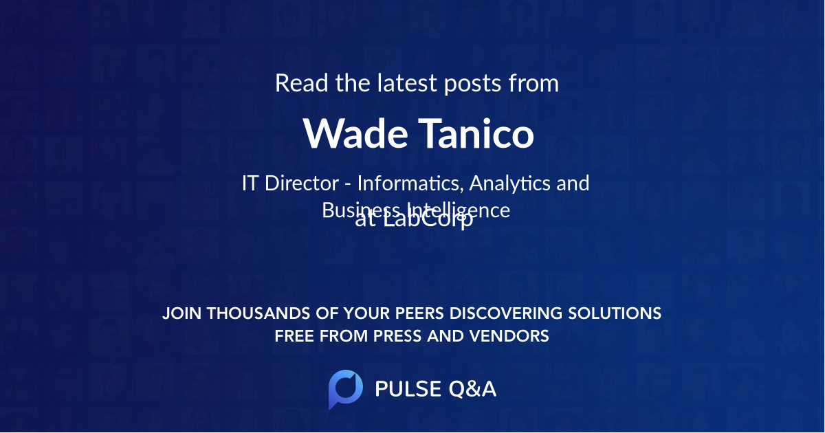 Wade Tanico