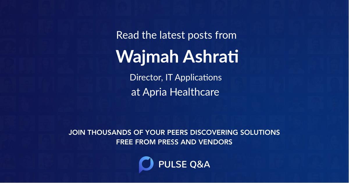 Wajmah Ashrati