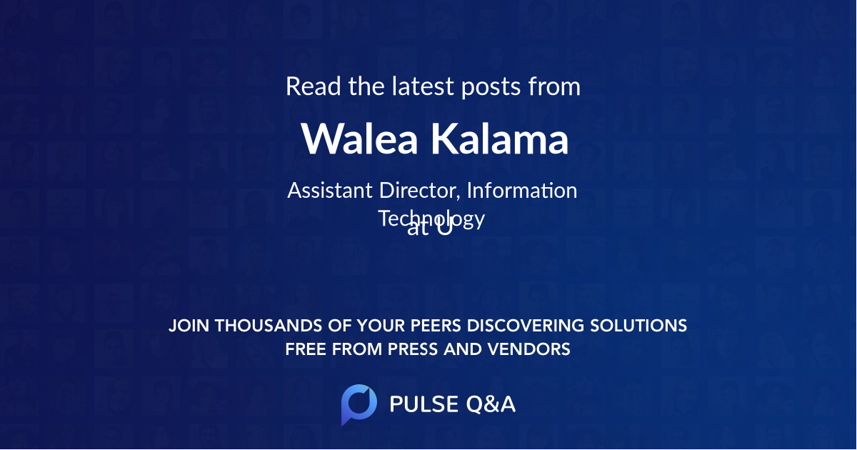 Walea Kalama