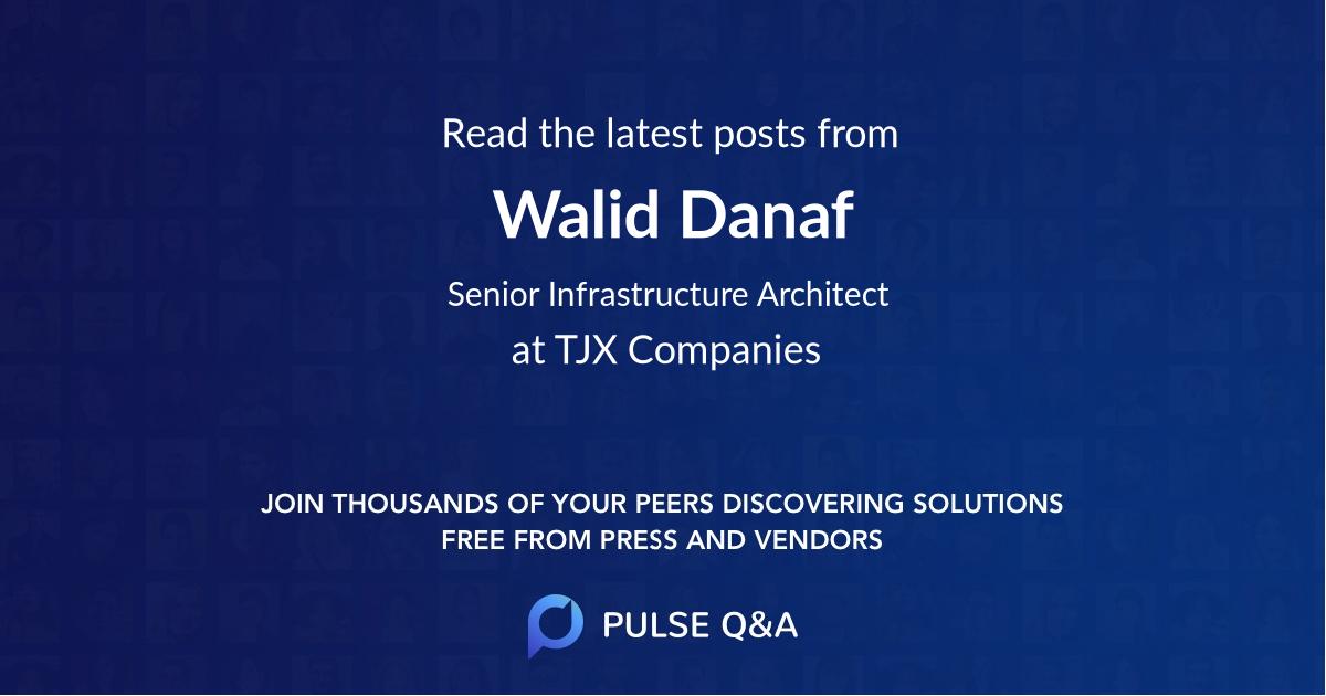Walid Danaf