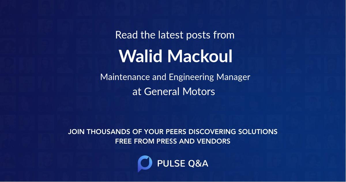 Walid Mackoul