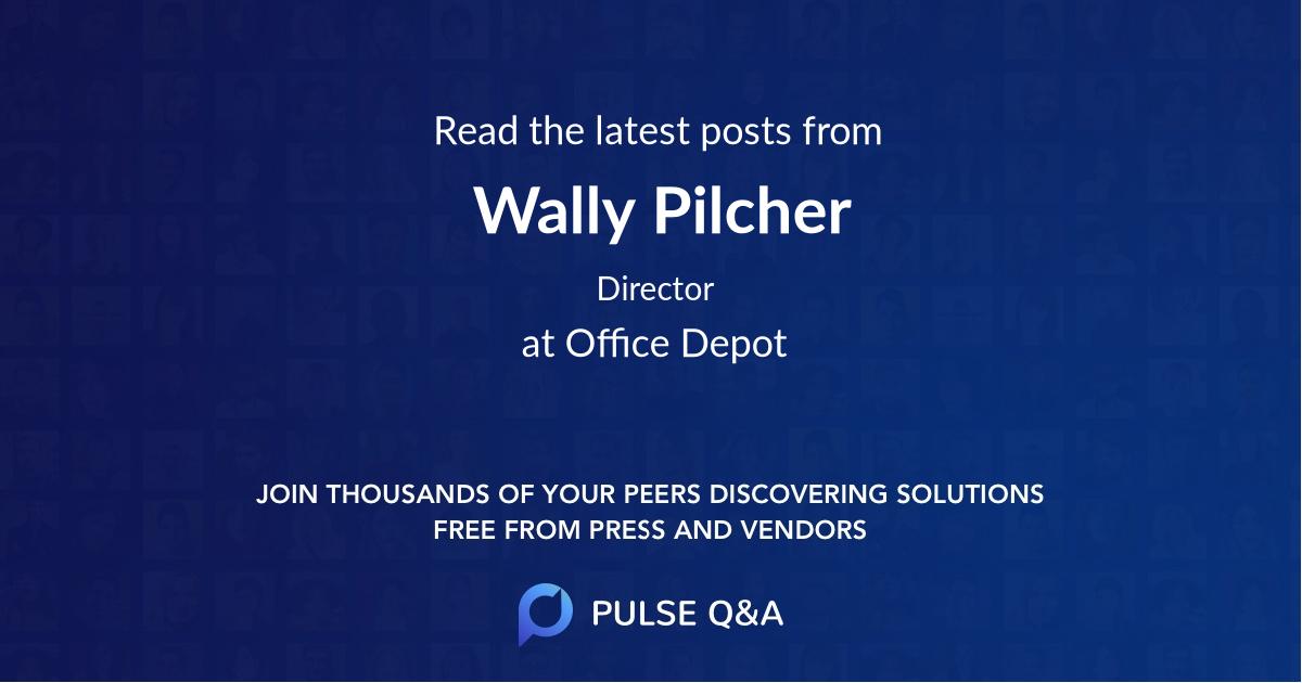 Wally Pilcher