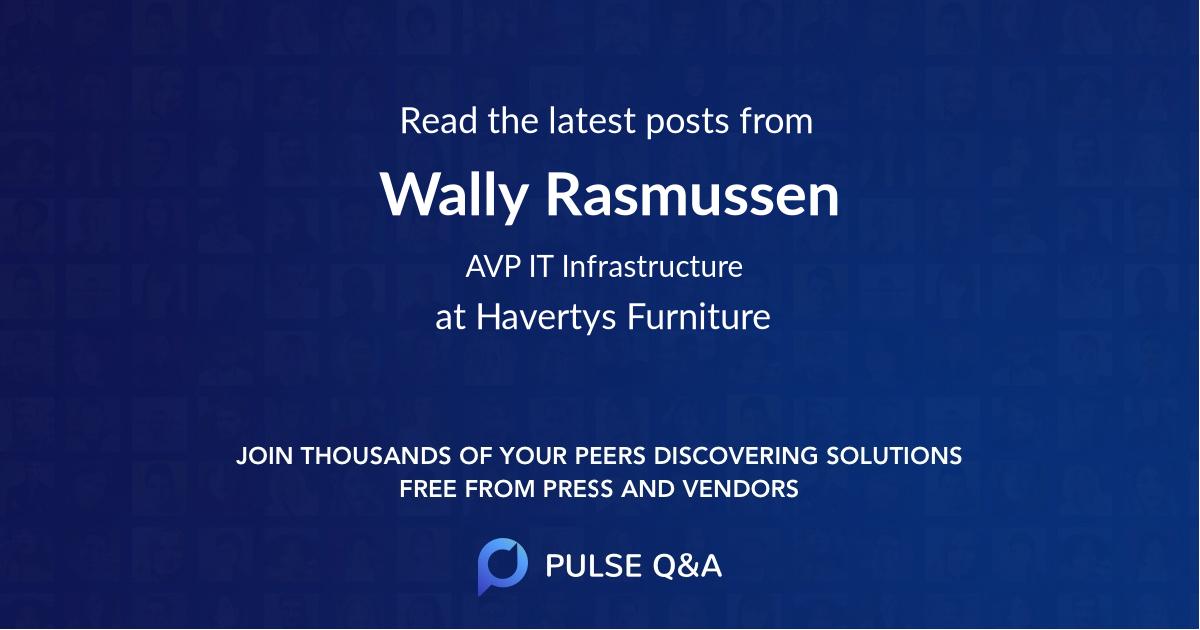 Wally Rasmussen