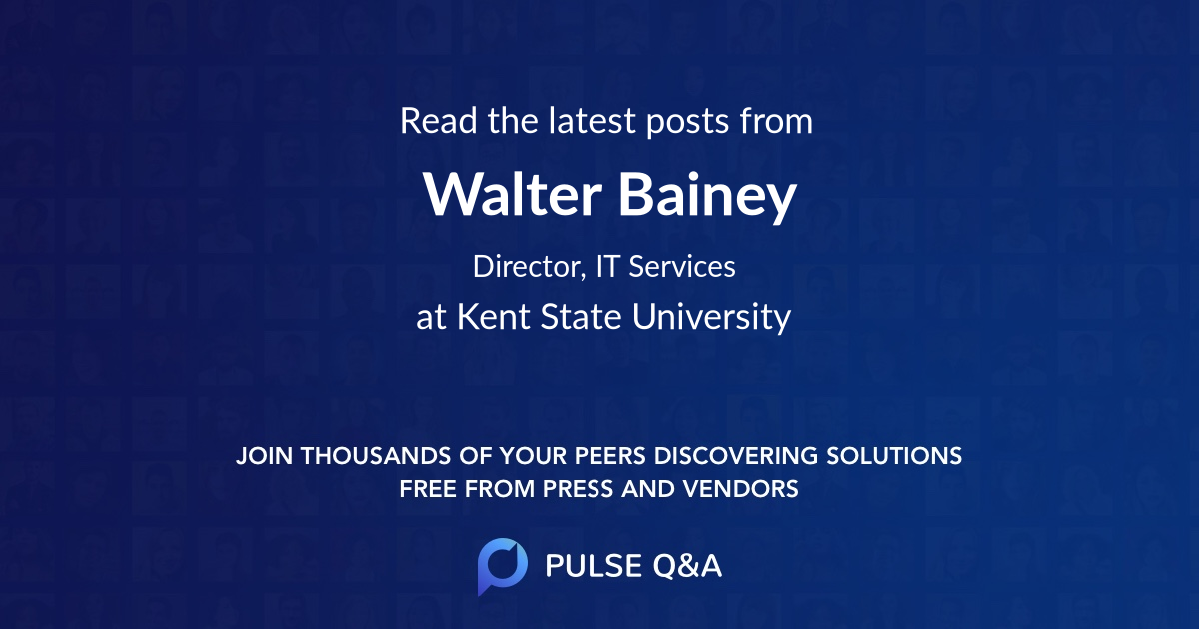Walter Bainey