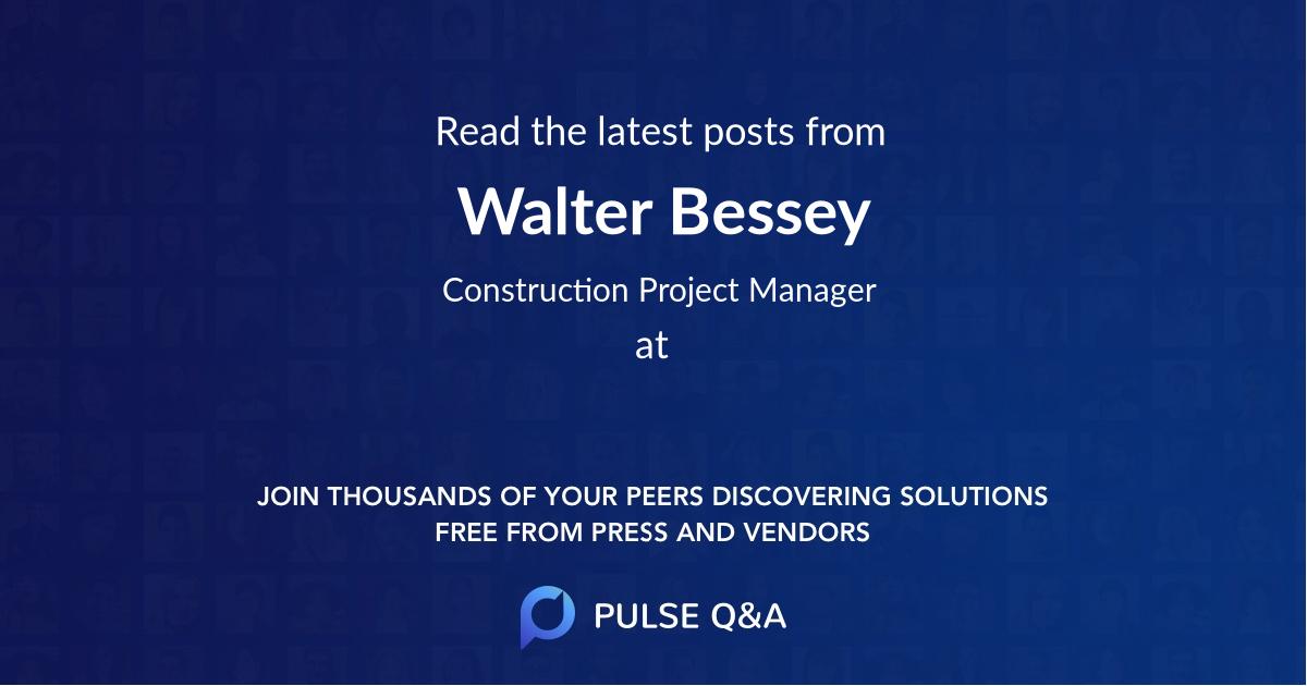 Walter Bessey