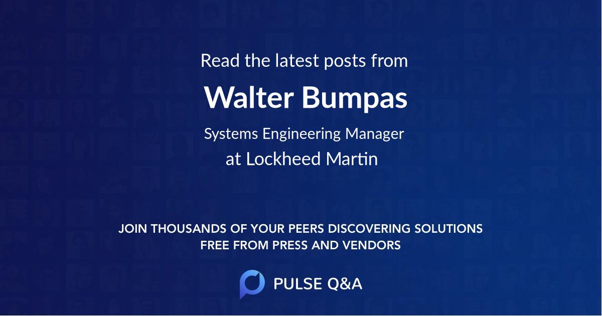 Walter Bumpas