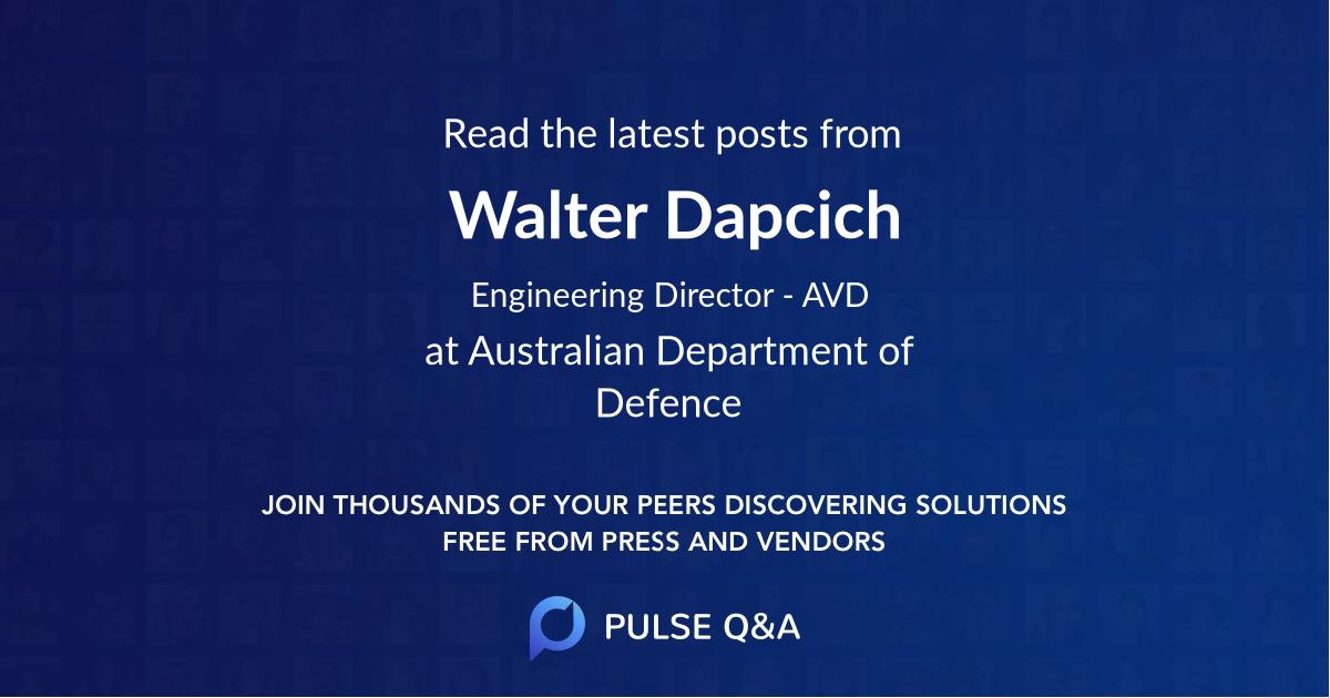 Walter Dapcich