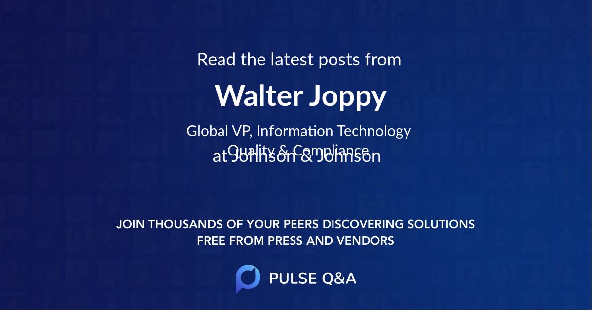 Walter Joppy