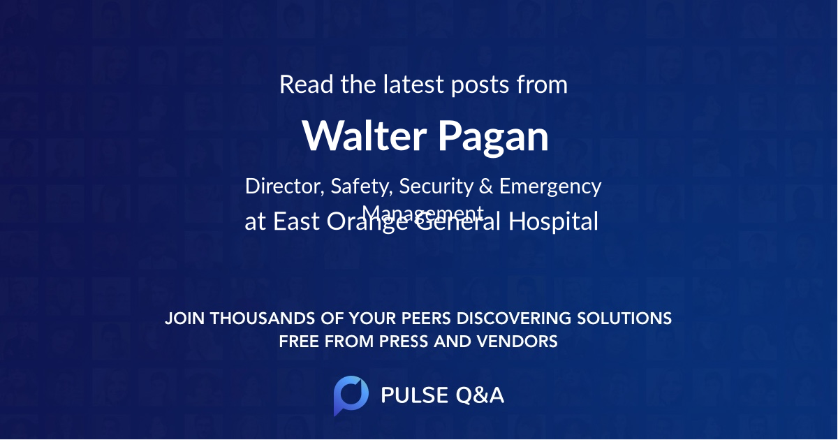 Walter Pagan
