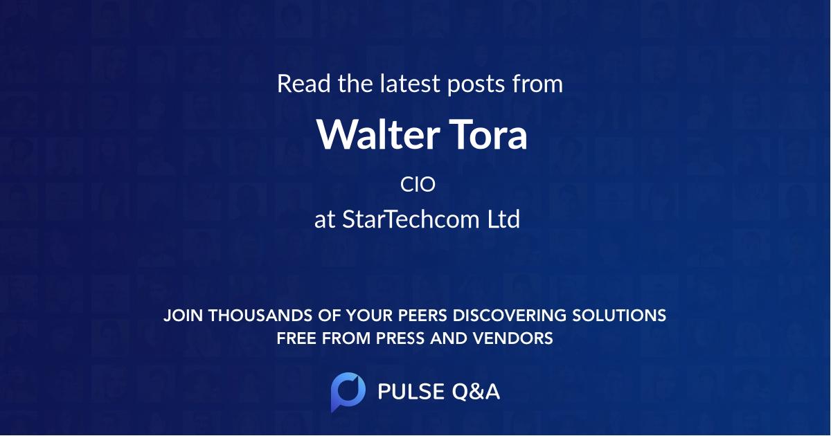 Walter Tora