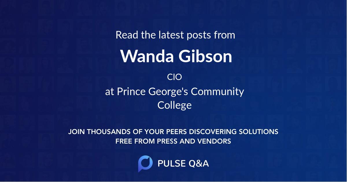 Wanda Gibson